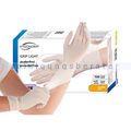 Einmalhandschuhe aus Latex Hygonorm Grip Light weiß L