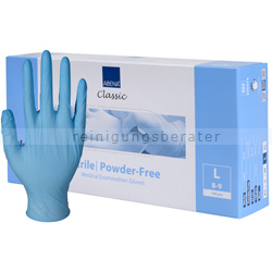Einmalhandschuhe aus Nitril Abena blau L
