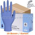 Einmalhandschuhe aus Nitril Abena Excellent blau L Karton