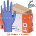 Einmalhandschuhe aus Nitril Abena Excellent blau M Karton