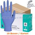 Einmalhandschuhe aus Nitril Abena Excellent blau S Karton