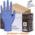 Einmalhandschuhe aus Nitril Abena Excellent blau XL Karton