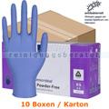 Einmalhandschuhe aus Nitril Abena Excellent blau XS Karton