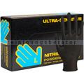 Einmalhandschuhe aus Nitril Abena Sensitive Ultra schwarz L