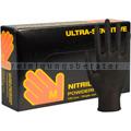 Einmalhandschuhe aus Nitril Abena Sensitive Ultra schwarz M