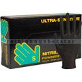 Einmalhandschuhe aus Nitril Abena Sensitive Ultra schwarz S