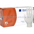 Einmalhandschuhe aus Nitril Ampri Eco-Plus weiß XL