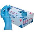 Einmalhandschuhe aus Nitril Ampri Med Comfort blau XXL