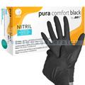 Einmalhandschuhe aus Nitril Ampri pura comfort black S