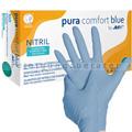 Einmalhandschuhe aus Nitril Ampri pura comfort blue L