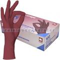 Einmalhandschuhe aus Nitril Ampri Style Grape bordeaux S