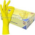 Einmalhandschuhe aus Nitril Ampri Style Lemon gelb L