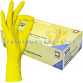 Einmalhandschuhe aus Nitril Ampri Style Lemon gelb M
