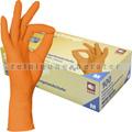 Einmalhandschuhe aus Nitril Ampri Style Orange M