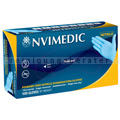Einmalhandschuhe aus Nitril Hygostar Safe Light blau L