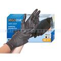 Einmalhandschuhe aus Nitril Hygostar Safe Light schwarz M
