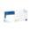 Zusatzbild Einmalhandschuhe aus Nitril MaiMed nitril LG PF blau Gr. L