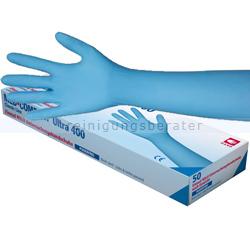 Einmalhandschuhe aus Nitril Med Comfort Blue Ultra 400 blau M