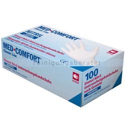 Einmalhandschuhe aus Nitril Med Comfort weiß XL