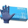 Einmalhandschuhe aus Nitril Proteksa blau XL