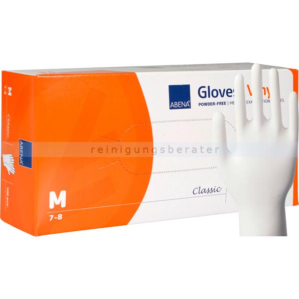 Einmalhandschuhe aus Vinyl Abena transparent M