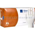 Einmalhandschuhe aus Vinyl Abena weiß XL
