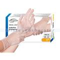 Einmalhandschuhe aus Vinyl Ampri Eco-Plus weiß L