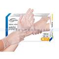 Einmalhandschuhe aus Vinyl Ampri Eco Plus Med Soft weiß M