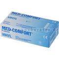 Einmalhandschuhe aus Vinyl Ampri Med Comfort weiß XL