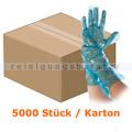 Einmalhandschuhe Hygostar Lebensmittelhandschuh blau 38 cm