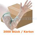 Einmalhandschuhe Hygostar Softline Extra Lang grün Karton