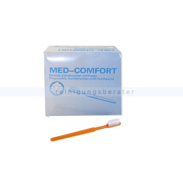 Einmalzahnbürste Ampri Med Comfort orange