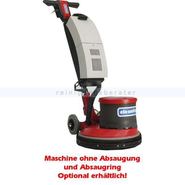 Einscheibenmaschine Cleanfix R 44 - 120 für die Renovation von Parkettböden 739.000VDE