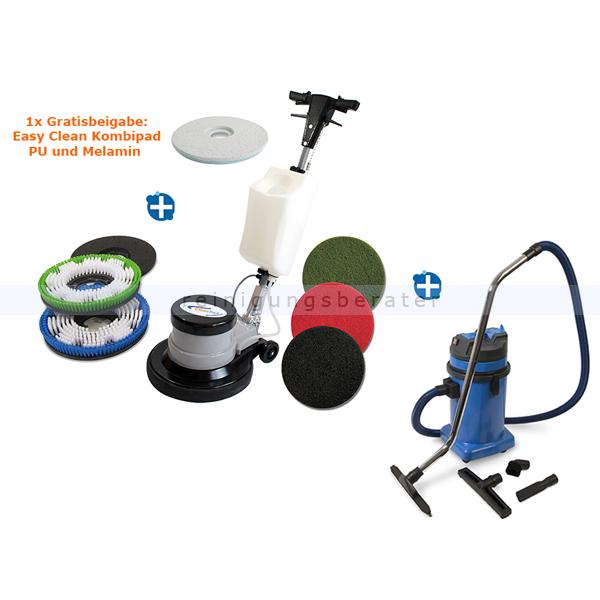 Clean Track CT 17 GR Set 2 Einscheibenmaschine Setangebote mit Nass- und Trockensauger Clean Track VacLine 30 L 890301.000000