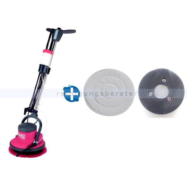 Einscheibenmaschine im Set Cleanfix FloorMac
