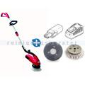 Einscheibenmaschine im Set Cleanfix Scrubby 145