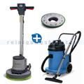 Einscheibenmaschine Numatic HFM 1515 S & Wassersauger