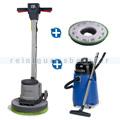 Einscheibenmaschine Numatic HFM 1515 S & Wassersauger ESM-5A