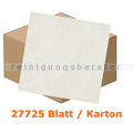 Einschlagpapier Abena gebleicht 11 x 21 cm weiß, Karton