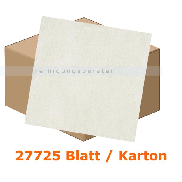 Einschlagpapier Abena gebleicht 11 x 21 cm weiß, Karton 27725 Stück je Karton, fettundurchlässiges Verpackungspapier 11227