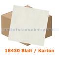 Einschlagpapier Abena gebleicht 17 x 21 cm weiß, Karton