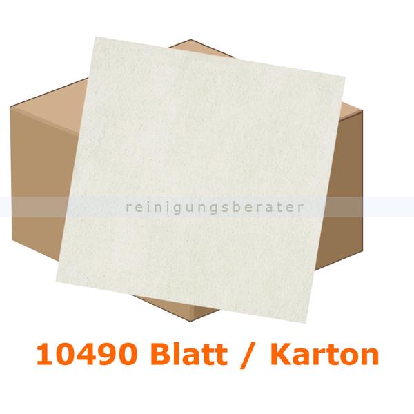 Einschlagpapier Abena gebleicht 23 x 28 cm weiß, Karton 10490 Stück je Karton, fettundurchlässiges Verpackungspapier 11224