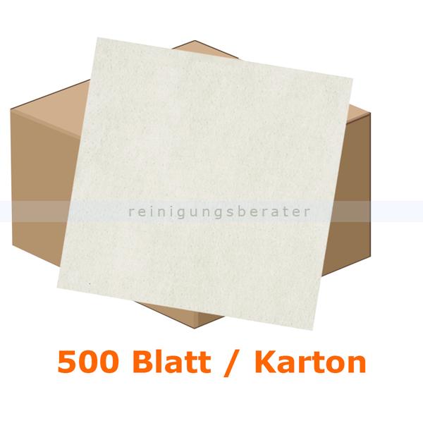 Einschlagpapier Abena gebleicht 30 x 40 cm weiß, Karton 500 Stück je Karton, fettundurchlässiges Verpackungspapier