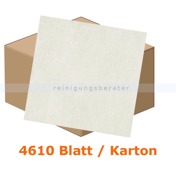 Einschlagpapier Abena gebleicht 34 x 42 cm weiß, Karton 4610 Stück je Karton, fettundurchlässiges Verpackungspapier 11222