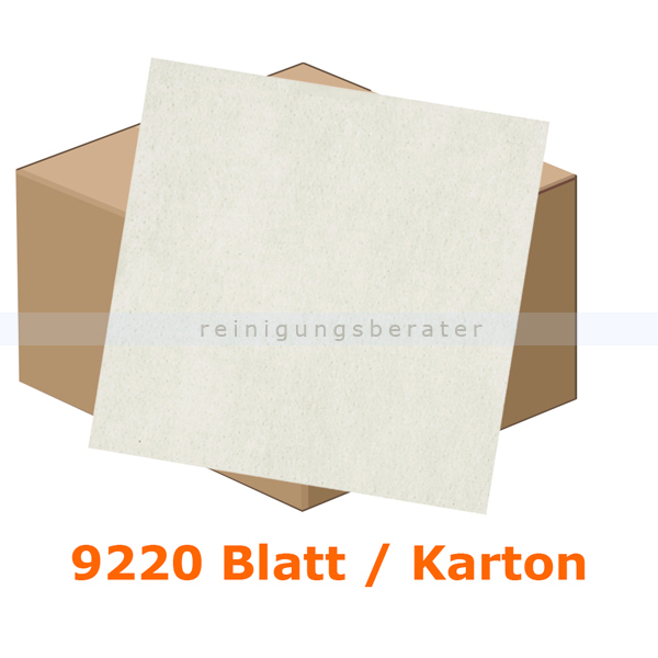 Einschlagpapier Abena gebleicht 42 x 68 cm weiß, Karton 9220 Stück je Karton, fettundurchlässiges Verpackungspapier 11221