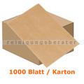 Einschlagpapier Abena ungebleicht 12,3 x 20 cm braun, Karton