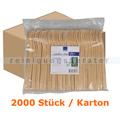 Einweggabeln Abena BIO braun 16,5 cm lang, Karton