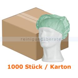 Einweghaube Ampri, Baretthaube Med Comfort grün XL