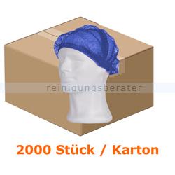 Einweghaube Ampri Klipphaube PP Eco Plus blau M