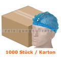 Einweghaube Ampri Klipphauben PP detektierbar M blau Karton